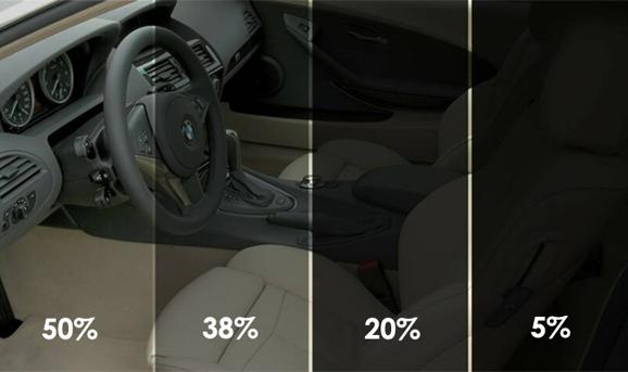 Černá folie na sklo auta
